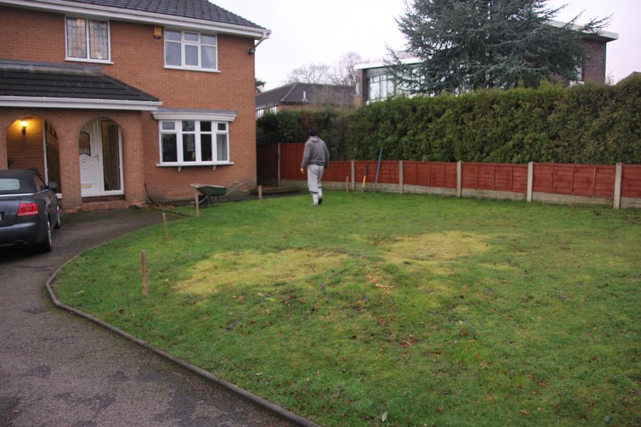 1 Driveway, Turfing and Fencing, Standish Image
