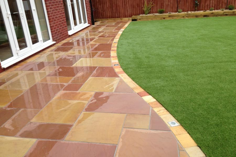 8 Paths and Patio Widnes (Back) Image