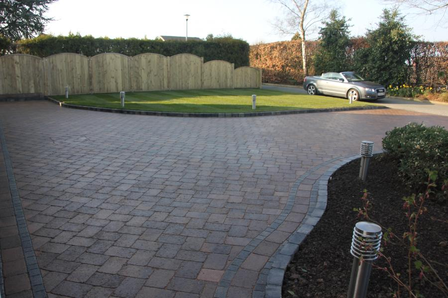 3 Driveway, Turfing and Fencing, Standish Image
