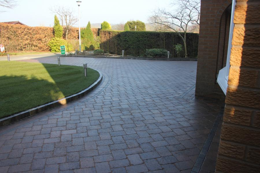 4 Driveway, Turfing and Fencing, Standish Image