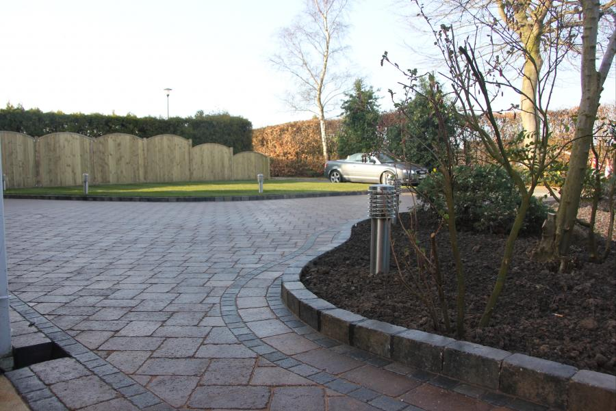 Driveway, Turfing and Fencing, Standish