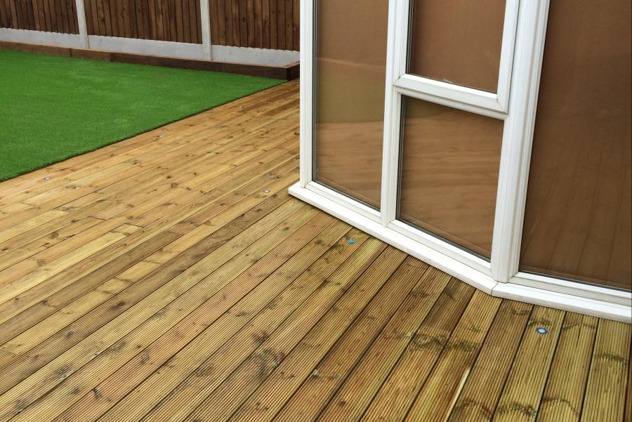 8 Driveway, Decking & Artificial grass in Lowton Image