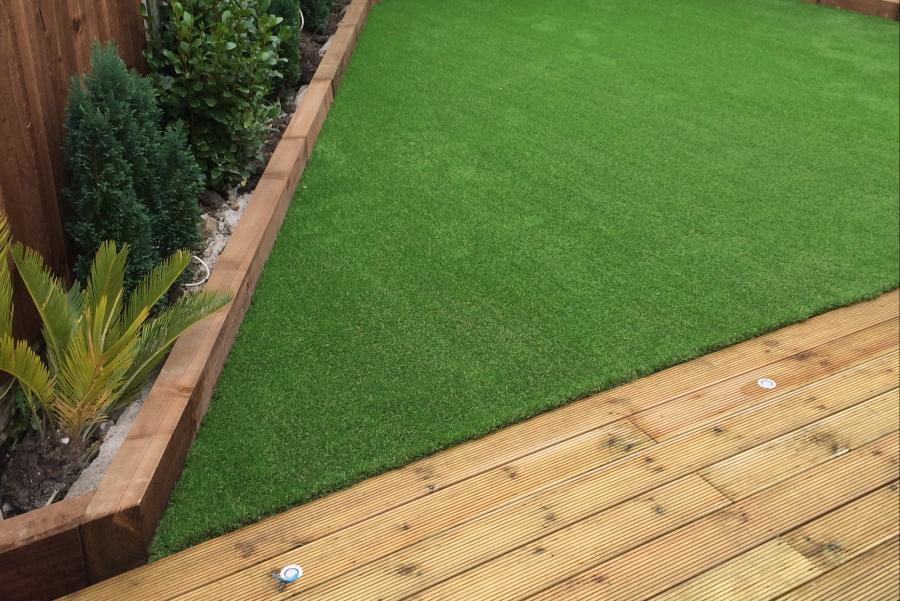 12 Driveway, Decking & Artificial grass in Lowton Image