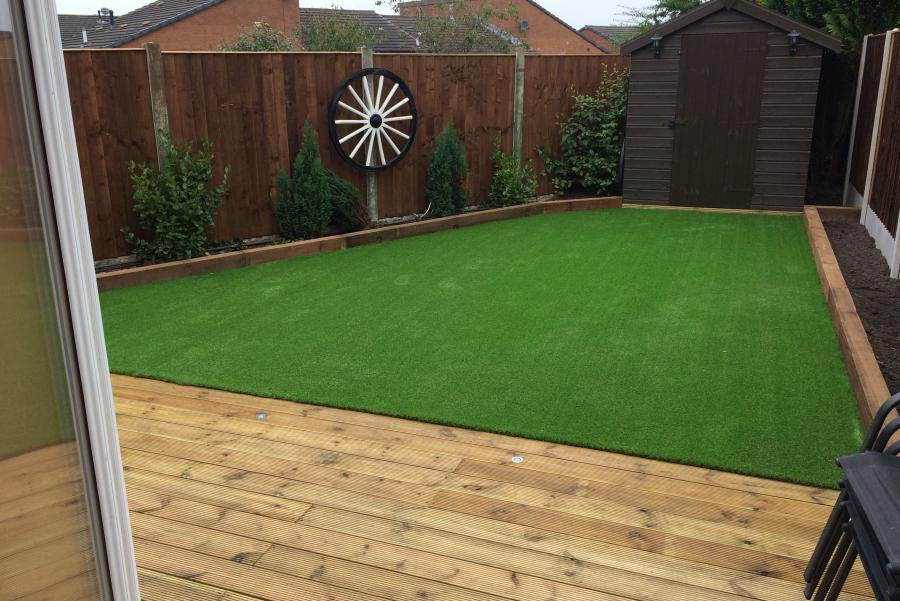 11 Driveway, Decking & Artificial grass in Lowton Image
