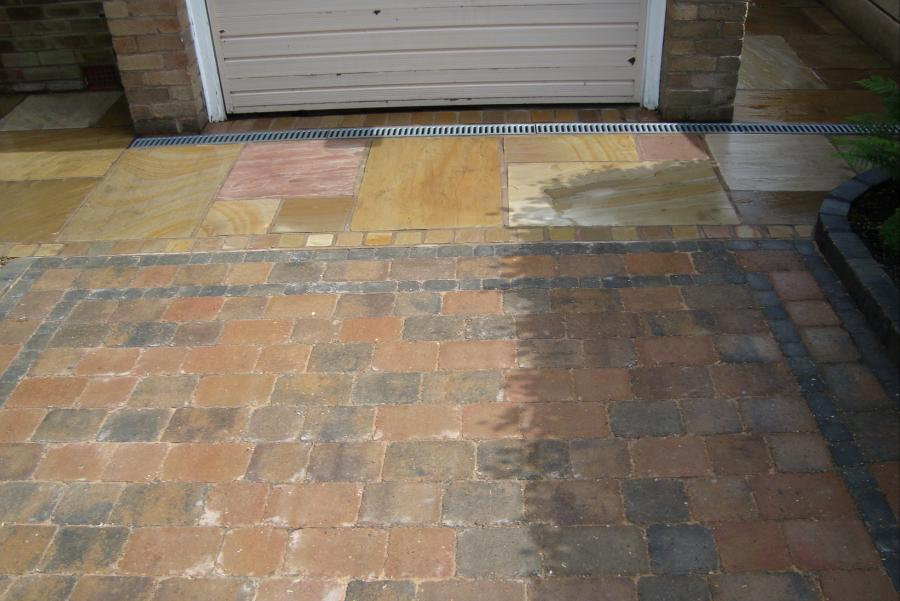 2 Patio and Driveway, Bolton Image