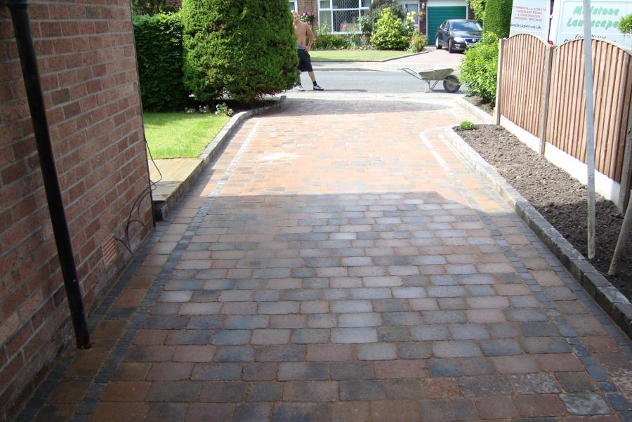 4 Patio and Driveway, Bolton Image