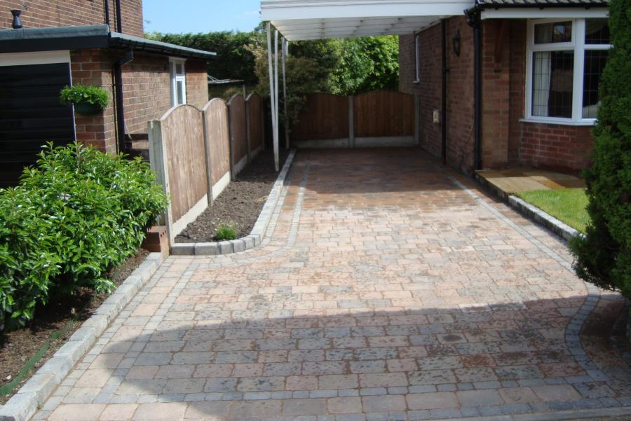 9 Patio and Driveway, Bolton Image