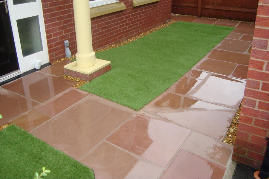 Paths and Patio Widnes (Front)