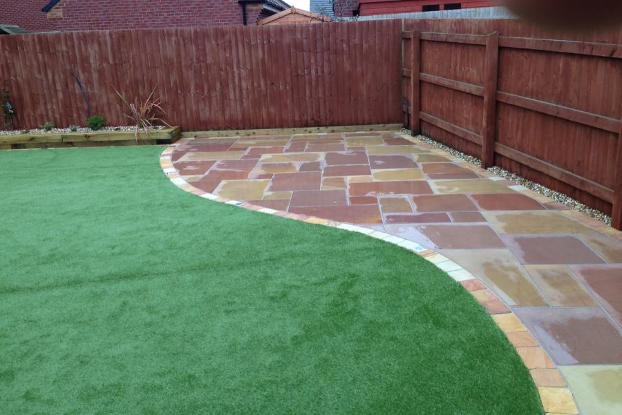 7 Paths and Patio Widnes (Back) Image